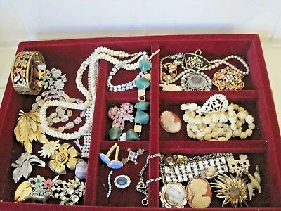 Huge Lot Antique & Vintage Jewellery Victorian Onward Some for Repair/Spares