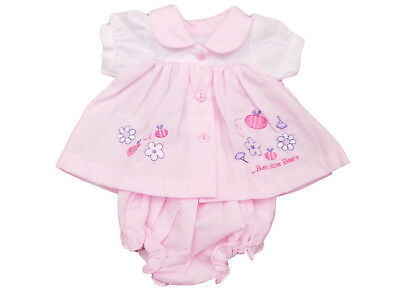 BNWT Tiny Baby Tiny Premature Preemie Girls pretty busy bee summer dress outfit