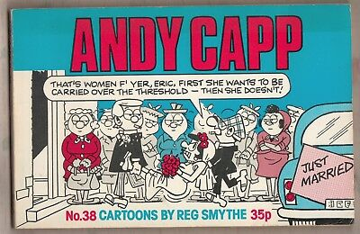ANDY CAPP No. 38  =  REG SMYTHE  =  CARTOONS  =  {MIRROR NEWSPAPERS 1977}  =