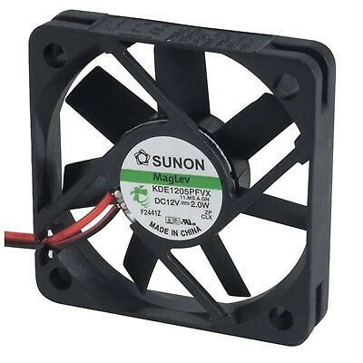 SUNON® KDE 1205PFVX 11.MS.A.GN MAGLev Axial Fan 12V DC 50 x 50 x 10mm