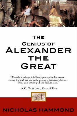 The Genius of Alexander the Great by Nicholas Hammond Paperback Book Free Shippi