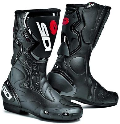 Sidi Fusion Lei Ladies Motorcycle Boots Blk (rrp £175.00)**Now £120.00**