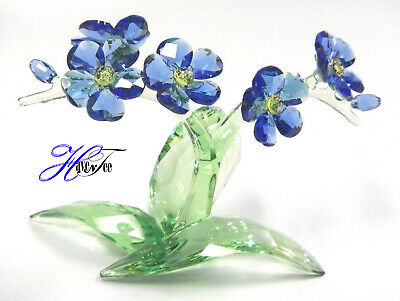 Forget Me Not Colorful Flowers 2018 Swarovski Crystal 5374947