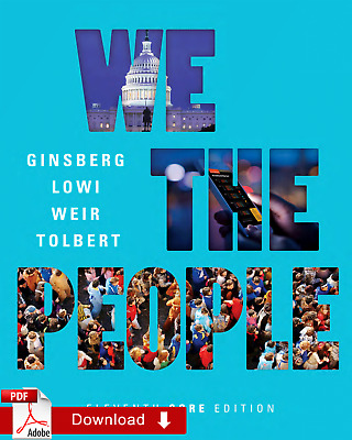 We the People eleventh 11th Core Edition Benjamin Ginsberg e-B00K !