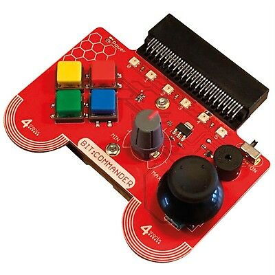 4tronix Bit:Commander Game Pad for BBC micro:bit