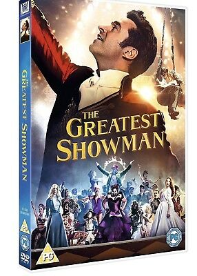 THE GREATEST SHOWMAN DVD Sing Along Brand New & Sealed UK Region 2 FREE POSTAGE