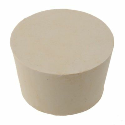 New Rubber Stopper Bungs Laboratory Solid Hole Stop Push-In Sealing Plug 11# JI