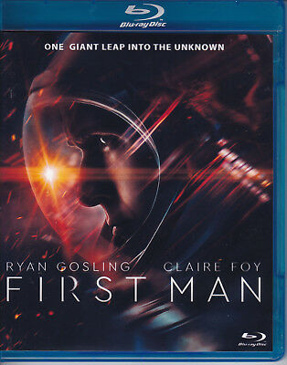 FIRST MAN...Ryan Gosling...BLU-RAY