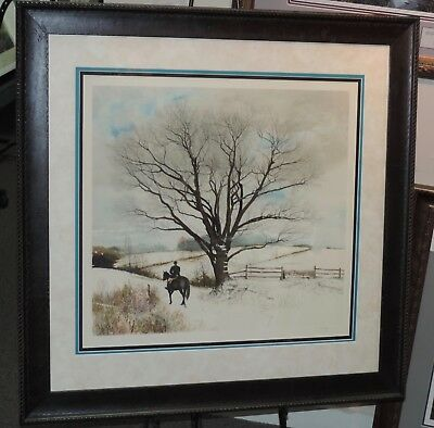 Peter Sculthorpe - Hilltopper - Framed - Collectible Pennsylvania  Print