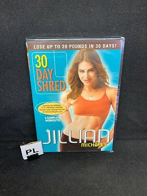(PL) JILLIAN MICHAELS 30 DAY SHRED New Sealed DVD Free US Shipping
