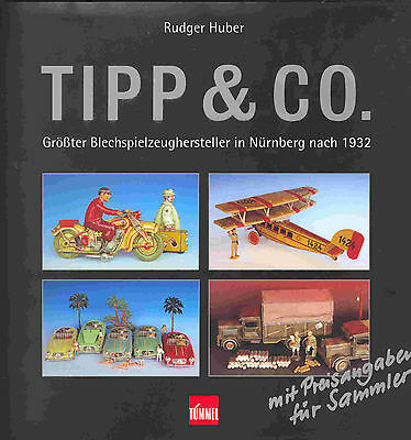 "GSPKW GSMOTO ""TIPP & CO"" HUBER, ALL TOYS EVER MADE,PRICEGUIDE, NEU/NEW in FOLIE"