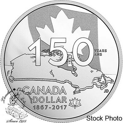 Canada 2017 $1 Our Home & Native Land Special Edition Proof Silver Dollar Coin
