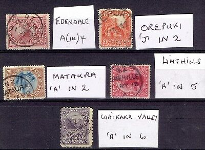 New Zealand stamps postmarks postal history Invercargill district collection