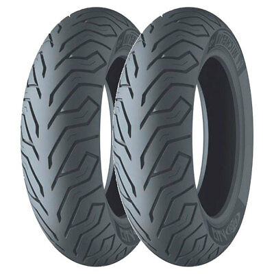 Tire Set Michelin 100/80-10 53L + 100/90-12 64P City Grip