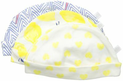 Rosie Pope Baby 3-Pack Sweet For Spring Caps, Limelight, 6-9 Months