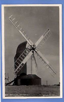 1935c Argos Hill WINDMILL, Mayfield, East Sussex RP PHOTO VINTAGE POSTCARD