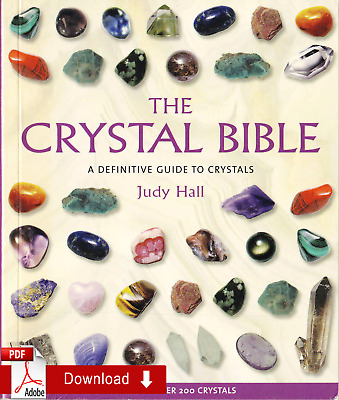 THE CRYSTAL BIBLE BY JUDY HALL (2003) 1 min delivery ¤E-Version¤
