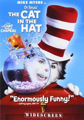 Dr. Seuss' The Cat In The Hat (DVD, 2010, Widescreen) NEW