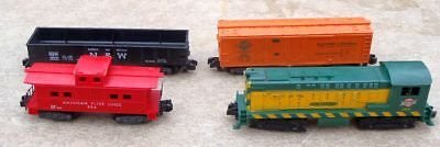 Model Railroads & Trains S Scale American Flyer Caboose And Misc Pieces Low Price
