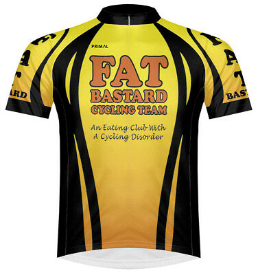 06b1126d2 Primal Wear Fat Bastard Cycling Team Jersey Men s short sleeve bicycle bike  +sox