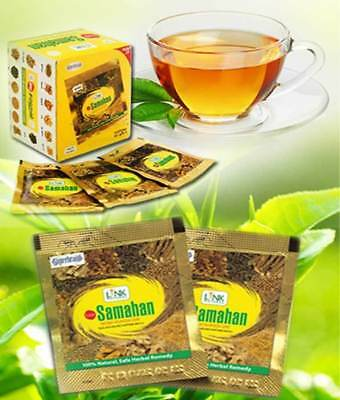 100Pcs Link SAMAHAN Ayurveda herbal Natural drink tea for Cough & Cold remedy
