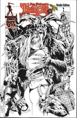 Tarot Witch Of The Black Rose #113 1:10 Variant Broadsword 112818