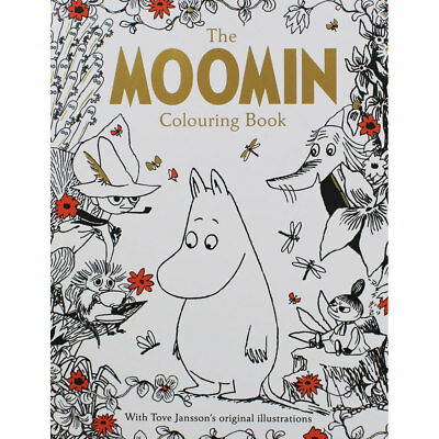 The Moomin Colouring Book by Tove Jansson (Paperback), Children's Books, New