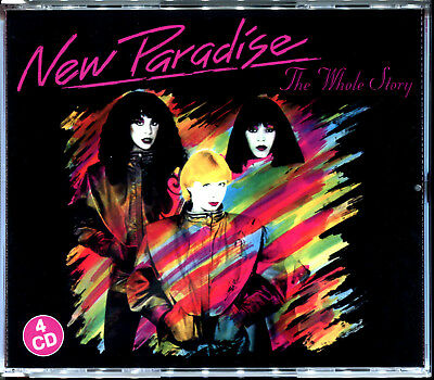 New Paradise - The Whole Story - Best Of Integrale 4 Cd Nef New 2019