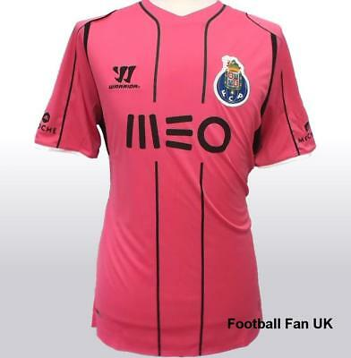 FC PORTO Warrior 3rd Shirt 2014-2015 NEW Men's Small Jersey Pink Third Camisa S