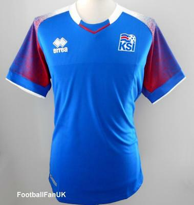 quality design dba60 64ef4 ICELAND OFFICIAL ERREA Men's Home Football Shirt 2018-2019 New Jersey  Island KSI