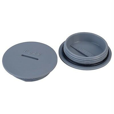 Alpha Wire HPP29 SL080 PG29 Slate Blanking Plug Pck of 10