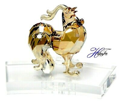 efdc77d38 Rooster Chinese Zodiac - Golden Asian Year 2019 Swarovski Crystal 5378358