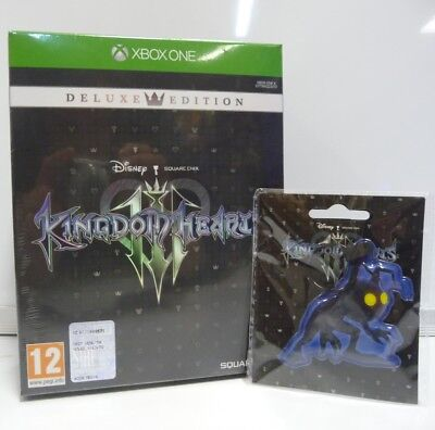 Kingdom Hearts Iii 3 - Deluxe Edition Microsoft Xbox One Versione Italiana New