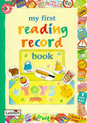 (Good)-My First Reading Record Book (Read with Ladybird) (Spiral-bound)-MacGrego