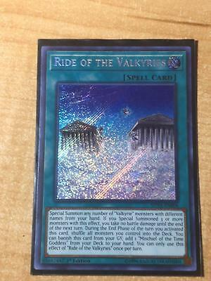 Yugioh Ride Of The Valkyries/shva-En006/1St/secret Rare
