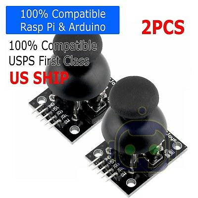 2X JoyStick Breakout Module Shield PS2 Joystick Game Controller For Arduino
