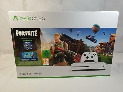 Xbox One S 1tb fortnite sleeved BOX ONLY!!! With inner packaging NO CONSOLE