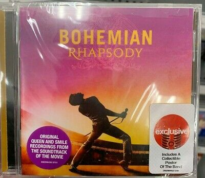 Queen Bohemian Rhapsody Original Soundtrack CD We Will Rock You, Under Pressure