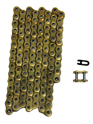 Gold 520x98 Non O-Ring Drive Chain ATV Motorcycle MX 520 Pitch 98 Links
