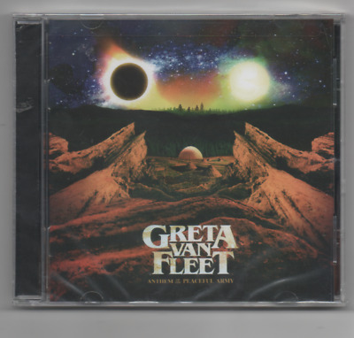 Greta Van Fleet Anthem of the Peaceful Army 2019 CD
