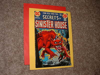 1972 DC Secrets of Sinister House 8 Very Good Free Shipping