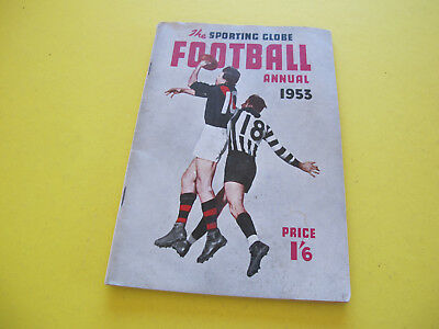 1953 The Sporting Globe Australian Football Annual  98 pages