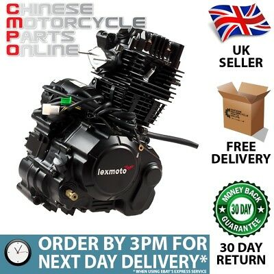 Engine Complete for Herald, Lexmoto (ENG083)
