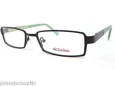 5fd9d3ab9c DIRTY DOG reading glasses frames only RITE black green Mens RX Optical 50291