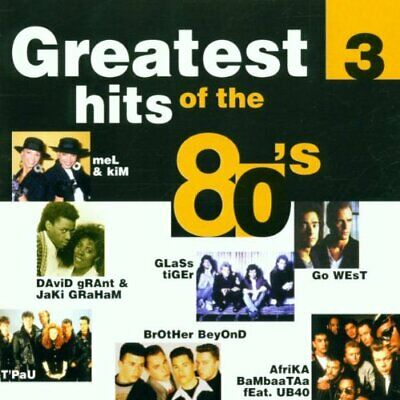 Various Artists : Greatest Hits of the 80s - 3 CD