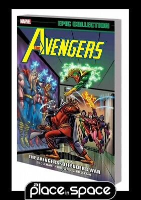 Avengers Epic Collection Avengers Defenders War - Softcover