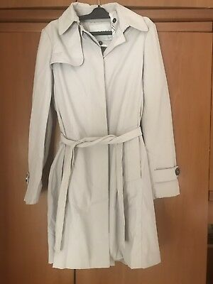 Zara Giacca Trench Impermeabile Jacket Coat Cappotto Da Donna Ragazza Woman b69f1f83b2f