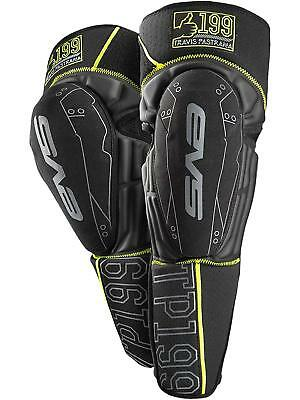 EVS TP 199 Youth Knee Guards Black Yellow Pads Armour Protection Bike Junior