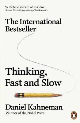 Thinking, Fast and Slow | Daniel Kahneman |  9780141033570