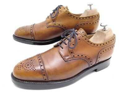 7ff39f4c9e Chaussures Bowen Derby 8 42 En Cuir Patine Gold Triple Semelle Shoes 335€